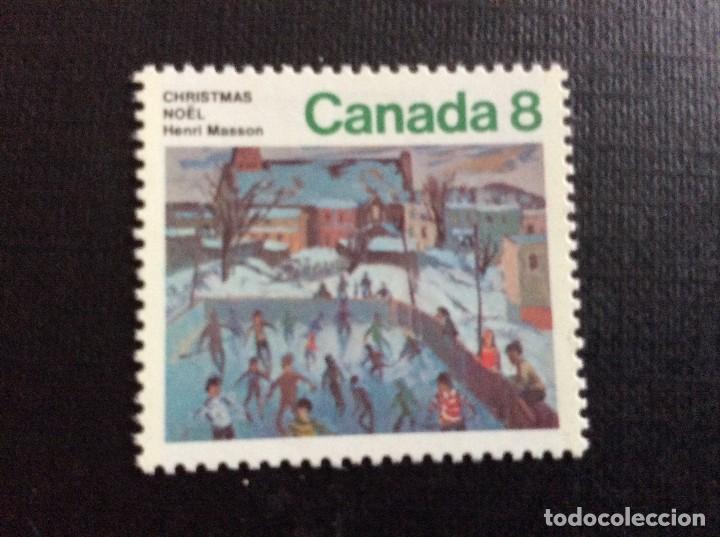 CANADA Nº YVERT 551*** AÑO 1974. NAVIDAD (Sellos - Temáticas - Navidad)