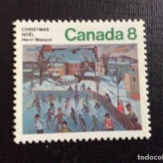 Sellos: CANADA Nº YVERT 551*** AÑO 1974. NAVIDAD. Lote 206185438
