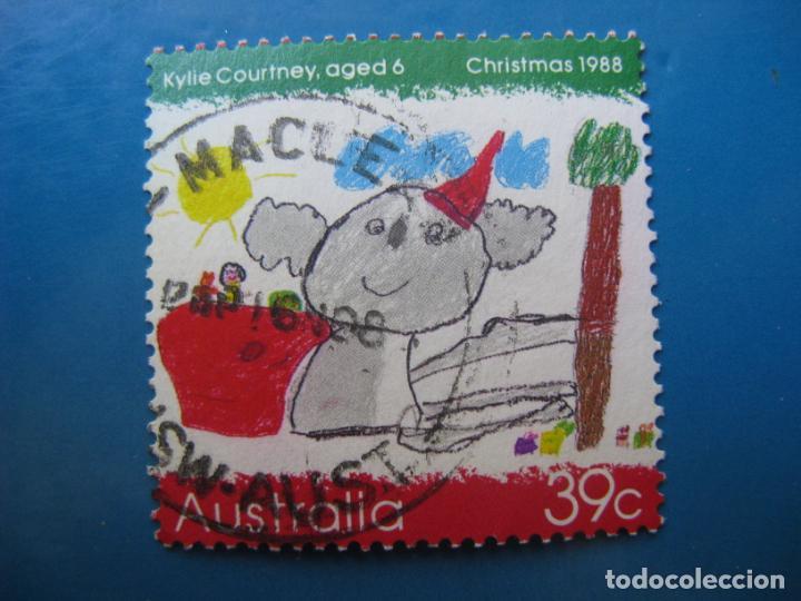 +AUSTRALIA 1988, NAVIDAD, YVERT 1104 (Sellos - Temáticas - Navidad)