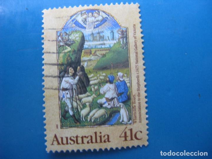+AUSTRALIA 1989, NAVIDAD, YVERT 1136 (Sellos - Temáticas - Navidad)