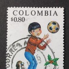 Sellos: 1974 COLOMBIA NAVIDAD. Lote 206586291