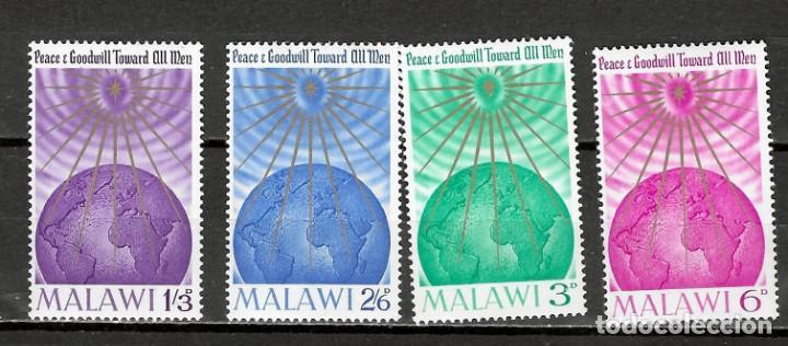 MALAWI Nº 18 AL 21 (**) (Sellos - Temáticas - Navidad)
