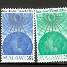 Timbres: MALAWI Nº 18 AL 21 (**). Lote 207963116