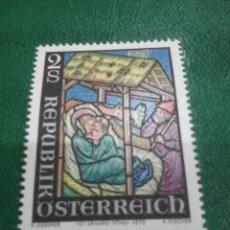 Sellos: SELLOS AUSTRIA (OSTERREICH) NUEVOS/1973/NAVIDAD/RELIGION/NACIMIENTO/ESCENA/CREENCIAS/NIÑO/MADONA. Lote 209006682