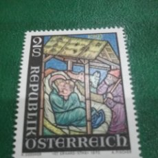 Sellos: SELLOS AUSTRIA (OSTERREICH) NUEVOS/1973/NAVIDAD/RELIGION/NACIMIENTO/ESCENA/CREENCIAS/NIÑO/MADONA. Lote 209006872