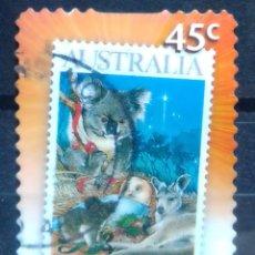 Sellos: AUSTRALIA NAVIDAD SELLO USADO. Lote 209250575