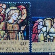 Timbres: NUEVA ZELANDA NAVIDAD SERIE DE SELLOS USADOS. Lote 209306757
