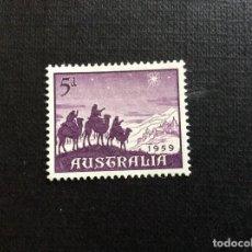 Sellos: AUSTRALIA Nº YVERT 262*** AÑO 1959. NAVIDAD. Lote 210526427