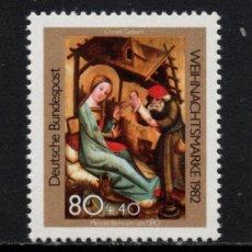 Sellos: ALEMANIA 993** - AÑO 1982 - NAVIDAD - PINTURA RELIGIOSA. Lote 228367575