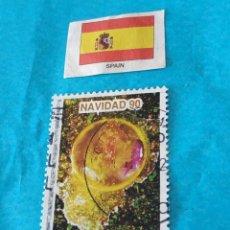 Sellos: ESPAÑA NAVIDAD 1990. Lote 212706148