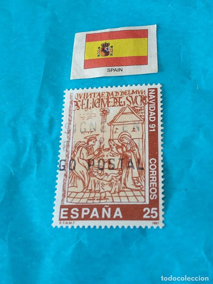 ESPAÑA NAVIDAD 1991 (Sellos - Temáticas - Navidad)