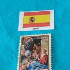 Sellos: ESPAÑA NAVIDAD 1969. Lote 212713228