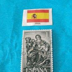 Sellos: ESPAÑA NAVIDAD 1963. Lote 212780241