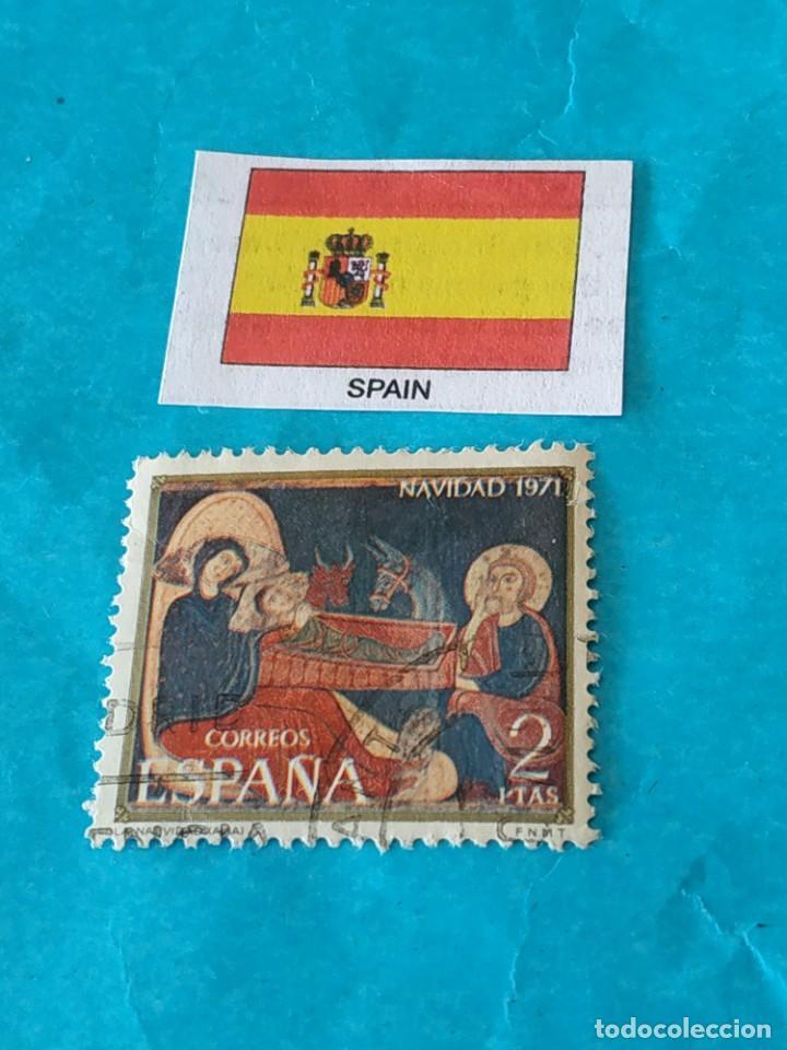 ESPAÑA NAVIDAD 1971 (Sellos - Temáticas - Navidad)