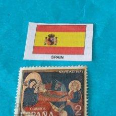 Sellos: ESPAÑA NAVIDAD 1971. Lote 212780513