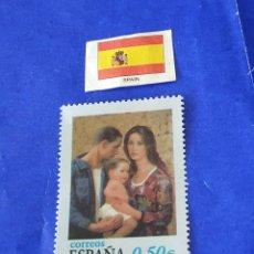Sellos: ESPAÑA (REPRODUCCIÓN) NAVIDAD 2002. Lote 212781416