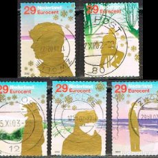 Sellos: HOLANDA Nº 2043, NAVIDAD 2002, USADO EN SERIE CORTA. Lote 213227952