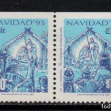 Sellos: CHILE 1288A/89A** - AÑO 1995 - NAVIDAD. Lote 213563888