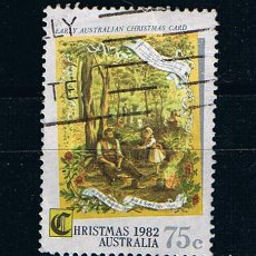 Sellos: AUSTRALIA NAVIDAD 1982 -SELLO USADO. Lote 214726148