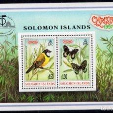 Sellos: SOLOMON IS/1997/MNH/SC#861/ NAVIDADES 1997 / EXHIBICION FILATELICA CHINA - BANGKOK 1997. Lote 215582108