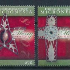 Sellos: MICRONESIA 2008 SCOT 779/82 *** NAVIDAD - ORNAMENTOS NAVIDEÑOS. Lote 218117677