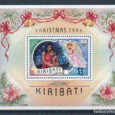 Sellos: KIRIBATI 1993 HB IVERT 15 *** NAVIDAD - LA MADRE Y EL NIÓ - ESCENIFICACIÓN LOCAL. Lote 218413123