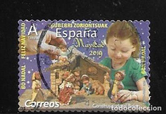 2019-ESPAÑA. NAVIDAD. CONSTRUYENDO EL BELÉN (Sellos - Temáticas - Navidad)