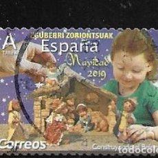 Sellos: 2019-ESPAÑA. NAVIDAD. CONSTRUYENDO EL BELÉN. Lote 218632498