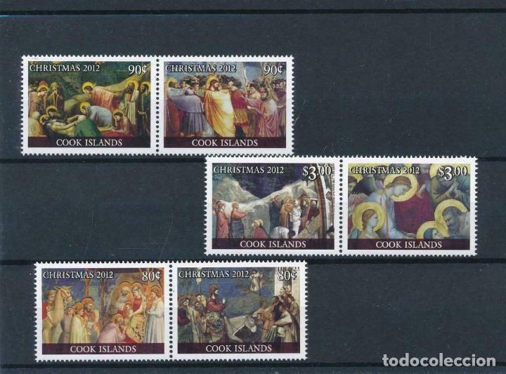 COOK 2012 MICHEL 1774/9 *** NAVIDAD - ARTE - PINTURA - ESCENAS DE NAVIDAD (Sellos - Temáticas - Navidad)