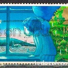 Sellos: GRAN BRETAÑA IVERT Nº 1289, NAVIDAD 1987, ESPERANDO A SANTA CLAUS, USADO. Lote 221407158