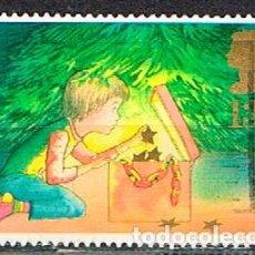 Sellos: GRAN BRETAÑA IVERT Nº 1289, NAVIDAD 1987, DECORANDO EL ÁRBOL, USADO. Lote 221407203