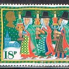 Sellos: GRAN BRETAÑA IVERT Nº 1248, NAVIDAD 1986, LEYENDAS NAVIDEÑAS: THE TANAD VALLEY PLYGAIN, NUEVO ***. Lote 221408933