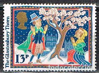 GRAN BRETAÑA IVERT Nº 1248, NAVIDAD 1986, LEYENDAS NAVIDEÑAS: LA ESPINA DE GLASTONBURY, NUEVO *** (Sellos - Temáticas - Navidad)