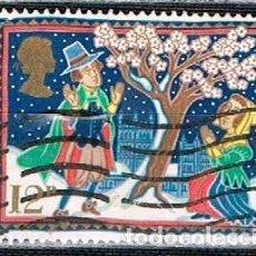 Sellos: GRAN BRETAÑA IVERT Nº 1248, NAVIDAD 1986, LEYENDAS NAVIDEÑAS: LA ESPINA DE GLASTONBURY, USADO. Lote 221409187