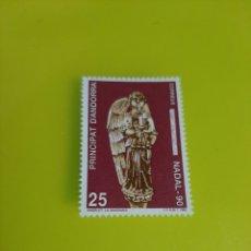 Sellos: SORIA NAVIDAD 1990 EDIFIL 222 ANDORRA ESPAÑA NUEVO FILATELIA COLISEVM LUGO. Lote 221632255