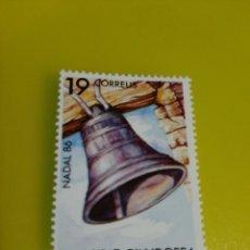 Sellos: 1986 NAVIDAD ANDORRA ESPAÑA SERIE COMPLETA NUEVA EDIFIL 194 FILATELIA COLISEVM LUGO. Lote 221632638