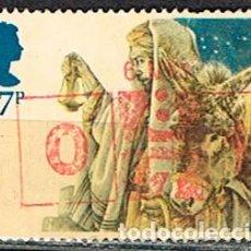 Sellos: GRAN BRETAÑA 1165, NAVIDAD 1984, LLEGADA A BELÉN., USADO. Lote 221824395