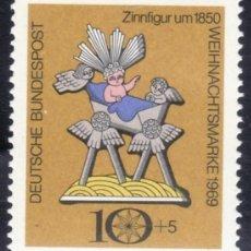 Sellos: SELLOS NAVIDAD ALEMANIA 1969 473 NACIMIENTO 1V.. Lote 222532945