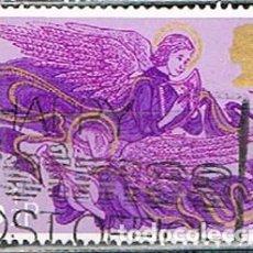 Sellos: GRAN BRETAÑA IVERT Nº 770, NAVIDAD 1975, ANGEL MÚSICO, USADO. Lote 222660053