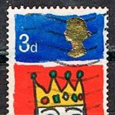 Sellos: GRAN BRETAÑA Nº 461, NAVIDAD 1966: REY MAGO. USADO. Lote 222699306