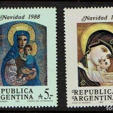 Sellos: ARGENTINA NAVIDAD 1988. Lote 223490136