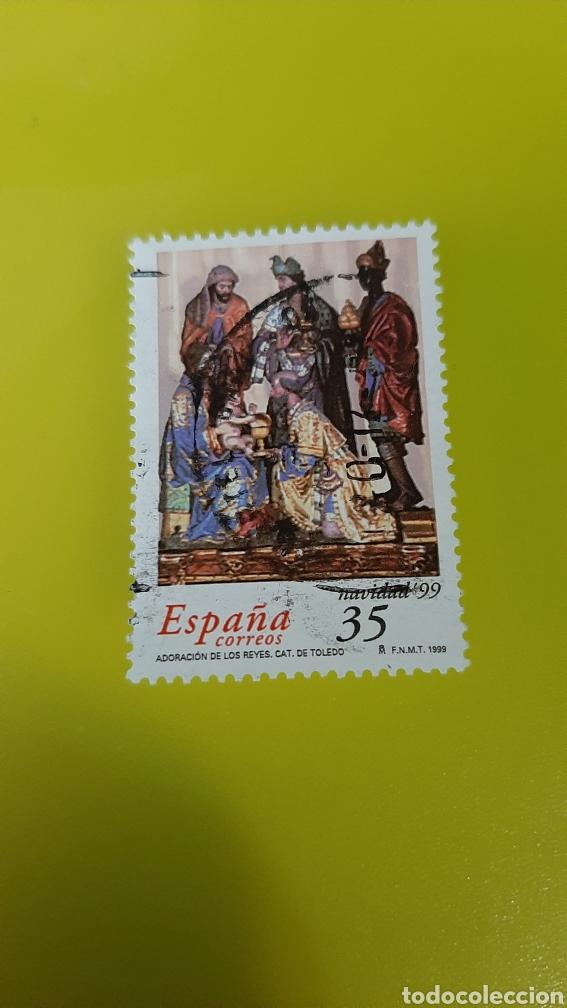 1999 NAVIDAD EDIFIL 3685 USADO ESPAÑA FILATELIA COLISEVM COLECCIONISMO LIBRERIA VINTAGE (Sellos - Temáticas - Navidad)