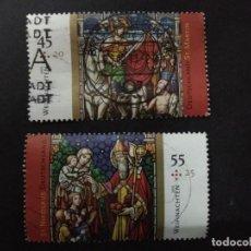 Sellos: ALEMANIA FEDERAL 2011. CHRISTMAS 2011. SERIE COMPLETA. YT:DE 2720,YT:DE 2721,. Lote 226923995