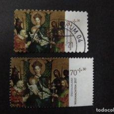 Sellos: ALEMANIA FEDERAL 2017. ADORATION OF THE THREE KINGS. YT:DE 3128,YT:DE 3062A,. Lote 226925920