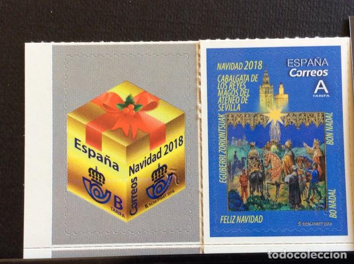 ESPAÑA Nº YVERT 5004/5*** AÑO 2018. NAVIDAD. REYES MAGOS Y REGALO (Sellos - Temáticas - Navidad)