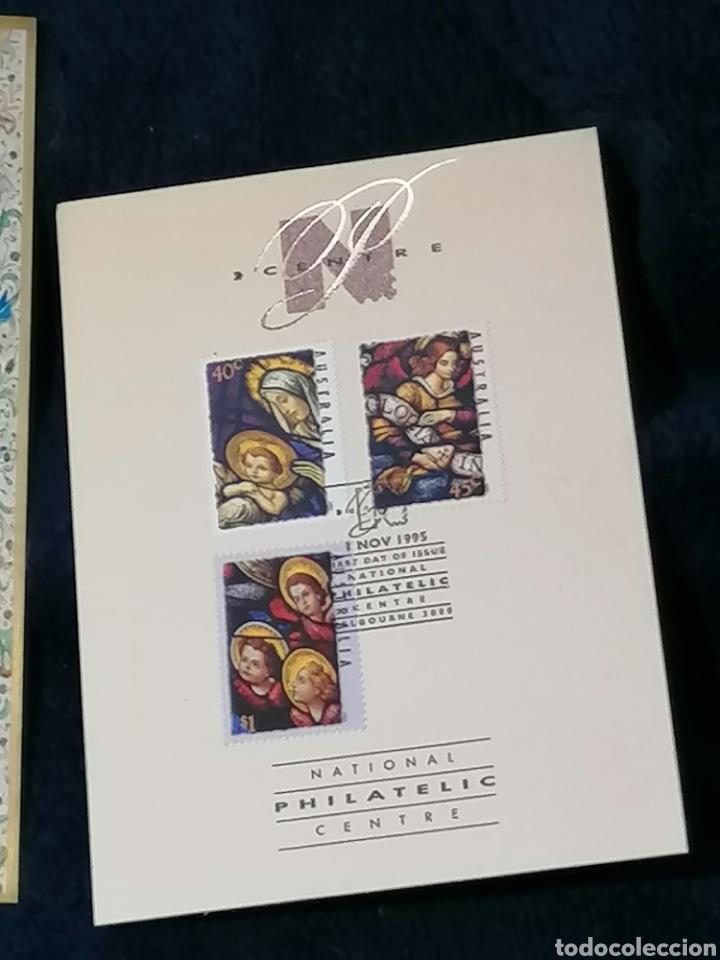 Sellos: Navidad Oceania Hbs y matasellos exposición - Foto 4 - 230416400