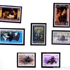 Sellos: NUEVA ZELANDA + NUEVA CALEDONIA NUEVOS + NUEVAS HEBRIDAS NUEVOS - (NUEVA ZELANDA TIENE 2 USADOS). Lote 231452540