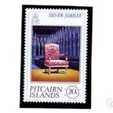 Sellos: ISLAS PITCAIRN - SILVER JUBILEE 1977 - YVERT 158/60 - SERIE COMPLETA NUEVA. Lote 231454255