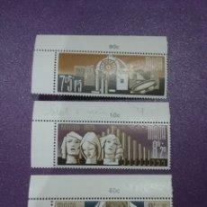 Sellos: SELLOS MALTA NUEVOS/1973/NAVIDAD/RELIGION/ANGELES/PANDERETA/NACIMIENTO/ESTRELLA/BELEN/CREENCIAS/. Lote 233737950