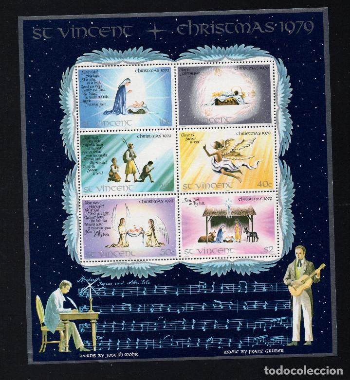 SAN VICENTE HB 10** - AÑO 1979 - NAVIDAD (Sellos - Temáticas - Navidad)